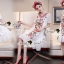 Lady Ribbon Korea SS04060616 Seoul Secret Say's... Bohe Color Embroider Long Dress thumbnail 2