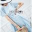 Chic Cotton Ruffle Lady Ribbon Dress thumbnail 3