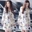 Brand Sevy Star Shining Day Collar Long Sleeve Mini Dress thumbnail 2