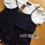 Lady Ribbon Korea Korea LR05300616 &#x1F380 Lady Ribbon's Made &#x1F380 Lady Kate Fashionable Street T-Shirt and Denim Full Set thumbnail 3