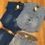 เสื้อผ้าเกาหลี LR11110716 &#x1F380 Lady Ribbon's Made &#x1F380 Lady Cindy Little Western Cowboy Denim Shirt and Shorts Set with Belt thumbnail 6
