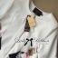 Lady Ribbon's Made &#x1F380 Lady Julianna Sassy Embellished Surreal Print Blouse thumbnail 8