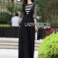 Black Overall Lady Ribbon jumpsuit thumbnail 1