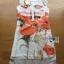 Lady Ribbon's Made &#x1F380 Lady Kimberley Smart Casual Holiday Orange Flower Printed Chiffon thumbnail 10