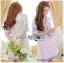Lady Ribbon Korea Mini Dress LR14270616 &#x1F380 Lady Ribbon's Made &#x1F380 Lady Rachel Summery Classic Blue and White Embroidered Dress thumbnail 1