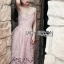 Lady Jane Baby Pink Lace Single Dress thumbnail 3