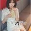 Lady Ribbon Korea LB14160516 &#x1F380 Lady Ribbon's Made &#x1F380 Lady Jennifer Sweet Button Down Organza Lace Dress thumbnail 5
