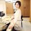 Lady Ribbon Korea SS02060616 Seoul Secret Say's... Lightly Cream Knitty Blouse thumbnail 5