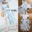 Chic Cotton Ruffle Lady Ribbon Dress thumbnail 6