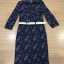Brand Cliona made'Chanel Floral Line Denim Luxury Dress - long dress ผ้าdenim thumbnail 3