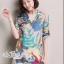 Closet &#x1F49E&#x1F4ABKorean wild loose cotton shirt printed graphics by Aris Code thumbnail 3