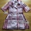 Lady Ribbon's Made &#x1F380 Lady Susan Double-Breast Checked Pink Trench Coat Korea thumbnail 9