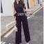 Black and White Lady Polkadot Jumpsuit thumbnail 3