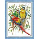Scarlet macaw (ไม่พิมพ์/พิมพ์ลาย)