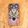 TPU ลายหมาป่า iphone X