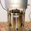 เครื่องบรรจุไส้กรอกออโต้10ลิตร เครื่องอัดไส้กรอกไฟฟ้า10ลิตร