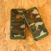 เคส 2 ชั้น กันกระแทกลายพราง iphone 5/5s/5se