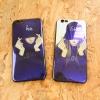 เคสการ์ตูนเคลือบปรอทคู่รัก #4 Iphone 6/6s