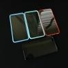 TPU หลังใสขอบขุ่น มีฝาปิดรู iphone 6 plus/6s plus