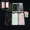 เคสหินอ่อนขอบใสนิ่ม+ฟิล์มกระจก+รูปวอลเปเปอร์ iphone 6/6s plus