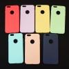 TPU สีอ่อนทึบ iphone 6/6s plus