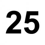 [C25] :: 25