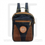 Jeans Denim Backpack, graphics pattern1, Medium Size