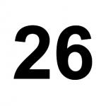 [C26] :: 26