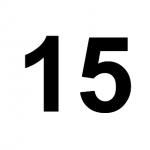 [C15] :: 15