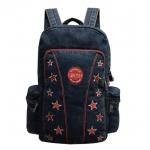 Jeans, Denim Vintage Style Backpack, 14 Stars