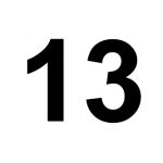 [C13] :: 13