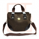 Handbag Artificial leather curve corner, work, leisure and vacation bag, good quality