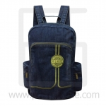 Jeans Denim Backpack, L color line, Vintage Style, High quality fabrics, Genuine Brand