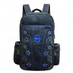 Jeans, Denim Vintage Style Backpack, 14 Stars, Blue