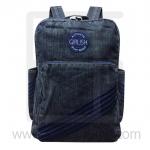 Jeans Denim Backpack, Vintage Style, Big Size