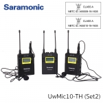 Saramonic UWMIC10-TH Set 2Transmitter 96-Channel Digital UHF Wireless Lavalier Microphone System