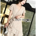🎀 Lady Ribbon's Made 🎀 Lady Laura Shining Little Star Velvet Ruffle Dress