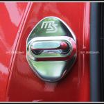 ครอบกลอนประตู mazda speed สีเงิน CX-5 2018