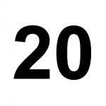 [C20] :: 20