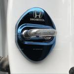 ครอบกลอนประตู Honda สีฟ้า HRV
