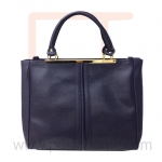 Hand & shoulder Tote bag, work, leisure and vacation bag, good quality-Navyblue