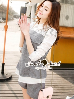 Seoul Secret Say's .... Chic Graylaa Silver Iron Stick Set