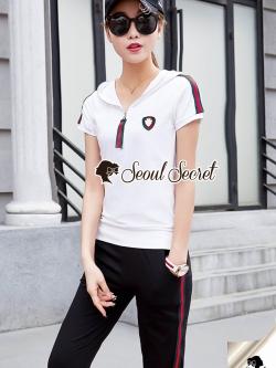 Seoul Secret Say's... Chic Chic Gucci Hood Sport Set