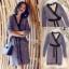 เสื้อผ้าแฟชั่นเกาหลี New Arrival .. Don't Miss!! Normal Ally Present Classy and Boutique lace dress thumbnail 8