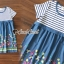 Seoul Secret Say's... Gene Streak Lace Colorful Dress thumbnail 4