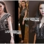 เสื้อผ้าแฟชั่นเกาหลี Lady Ribbon's Made Lady Martha Tribal Chic Crystal Embellished Black Jumpsuit thumbnail 1