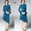 เสื้อผ้าแฟชั่นเกาหลี Valentino lace panel dressOdee&Cutie Daily Fashion 2017- thumbnail 3