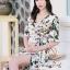เสื้อผ้าแฟชั่นเกาหลี Lady Ribbon Thailand Seoul Secret Say's...Debris Flower So Sexy Turn After thumbnail 2