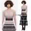 เสื้อผ้าแฟชั่นเกาหลี Lady Ribbon's Made Lady Luna Ruffle Layered Mixed Lace Long Dress thumbnail 3