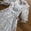 เสื้อผ้าแฟชั่นเกาหลี Lady Ribbon's Made Lady Natalie Little Princess High-Neck White Lace Long Dress thumbnail 12